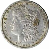 1895-O MORGAN SILVER DOLLAR EF UNCERTIFIED
