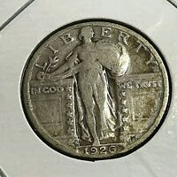 1926-S SILVER STANDING LIBERTY QUARTER  COIN