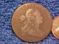 1800 US LARGE CENT S-210 R-6 COMMA VARIETY   . DBSPT