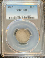 1807 PCGS P01   ADDITIONAL COINS SHIP FREE