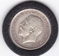 1914   KING   GEORGE  V  SILVER  SHILLING      BRITISH COIN