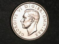 GREAT BRITAIN 1937 1 FLORIN SILVER CHOICE PROOF