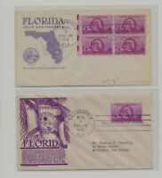 US   2 FDC'S LOT  97