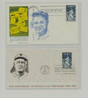 US   2 FDC'S LOT  108