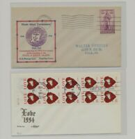 US   2 FDC'S LOT  112