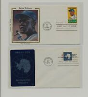 US   2 FDC'S LOT  121