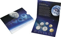 2019 50TH ANNIVERSARY OF THE MOON LANDING SIX COIN UNCIRCULA