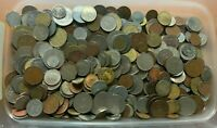 FIVE  5  POUNDS OF WORLD/FOREIGN COINS   LOT   NO RESERVE