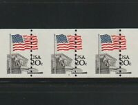 US EFO ERROR STAMPS: 1895 FLAG COURT PERF SHIFT PS7 5 PNC. M