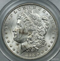 OLD GREEN LABEL PCGS MINT STATE 64 1898-O MORGAN SILVER DOLLAR  $1   BC97