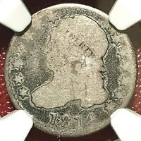 1814 CAPPED BUST DIME NGC FAIR 2 LOWBALL