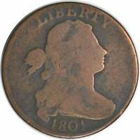 1801 LARGE CENT 1/100/000 G UNCERTIFIED