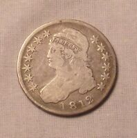 1812 CAPPED BUST HALF DOLLARSHIPS FREE..LOT 7810