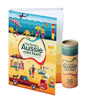 2019 THE GREAT AUSSIE COIN HUNT FOLDER WITH ROLL OF 26 A Z $