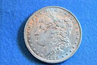 1888-0 MORGAN DOLLAR HOT LIPS DOUBLE DIE OBVERSE  VARIETY COIN    7