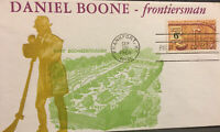 US FDC 6 CENT DANIEL BOONE  FRONTIERSMAN  FIRST DAY COVER 19