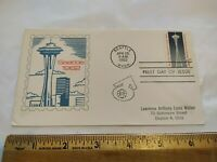 SEATTLE 1962 WORLD'S FAIR SPACE NEEDLE FIRST DAY COVER