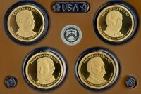 2012 S 4 COIN PROOF PRESIDENTIAL DOLLAR SET   KEY DATE