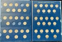 NEAR COMPLETE  74 PC  SET OF CIRCULATED 1916 1945 MERCURY HE