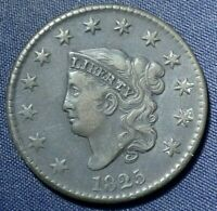 1825 LARGE CENT 1  NICE COIN