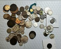 FOREIGN COIN LOT NICER COINS  SILVER  OLDER COINS