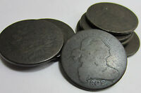 1  1796 1807 DRAPED BUST LARGE CENT // AG   GOOD    NEW COINS IN STOCK