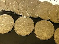 1926 N6 CANADA NICKEL KEY DATE COIN   LOW MINTAGE   ONE COIN FROM THIS ROLL