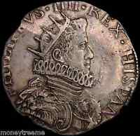 ITALY MILAN 1630  DATED  KING PHILIP IV  NGC 50 SILVER DUCAT COIN