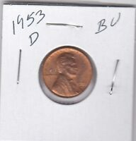 LINCOLN CENT 1953D