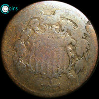 1871 TWO CENT PIECE TYPE COIN 2CP LOW MINTAGE C168