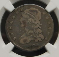 1835 CAPPED BUST QUARTER NGC CERTIFIED VG 8