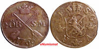 SWEDEN COPPER  ADOLF FREDERICK 1766 2 ORE S.M. KM 461
