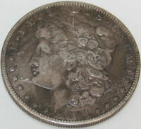 1893-O MORGAN SILVER DOLLAR [SN01]