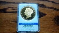 1849 LIBERTY HEAD DOUBLE EAGLE 24K GOLD PLATED REPLICA