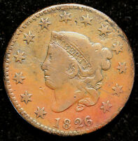 1826/5 N 8 LARGE CENT