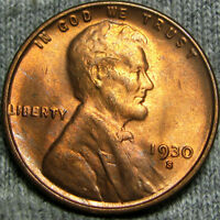 1930-S LINCOLN CENT WHEAT CENT  --- STUNNING --- P779