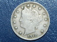 1910 LIBERTY NICKEL  COIN  574