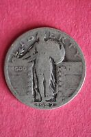 1927-P STANDING LIBERTY QUARTER 90 SILVER $1.99 FLAT RATE SHIPPING COIN 184