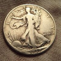 1940 S 50C WALKING LIBERTY HALF DOLLAR BEST OFFER CHECK OUT MY STORE  1