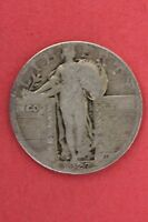 1927-P STANDING LIBERTY QUARTER FAST SHIPPING 90 SILVER US BULLION COIN 101