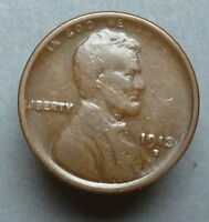 1913-S LINCOLN CENT PLEASING VG