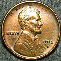 1913-S LINCOLN CENT WHEAT CENT  CLEANED  ----- MAKE AN OFFER ----- K113
