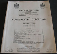 SPINK & SON THE NUMISMATIC CIRCULAR VOLUME 78 NUMBER 2 FEBRUARY 1970