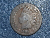 1865 INDIAN HEAD CENT  438