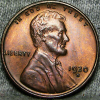 1930-S LINCOLN CENT WHEAT CENT ---- STUNNING  ---- B698