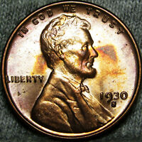 1930-S LINCOLN CENT WHEAT CENT ---- STUNNING  ---- B710