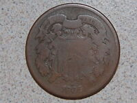1865 TWO CENT  444