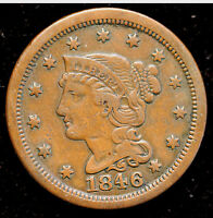 1846 N 15 LARGE CENT  VARIETY