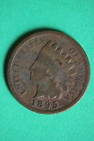 1895 INDIAN HEAD CENT PENNY NICE DETAILS FLAT RATE SHIPPING COIN 792