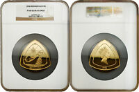 BERMUDA 1996 BERMUDA TRIANGLE $180 5 OZ GOLD COIN NGC PF 68 ULTRA CAMEO